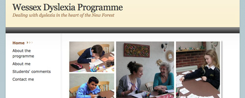 Wessex Dyslexia Programme homepage